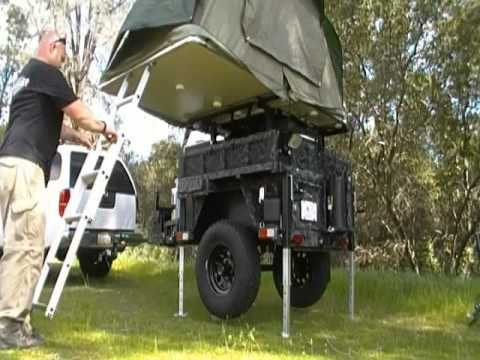 Creative 230 Camper Trailer Tent Annexe Setup Video  Ezytrail Camper Trailers