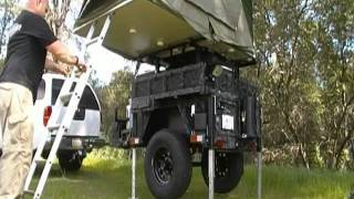 Tent-n-trailer Camp System - Setup Video