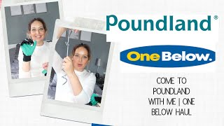 COME WITH ME TO POUNDLAND | POUNDLAND AND ONE BELOW HAUL - Tanya Louise