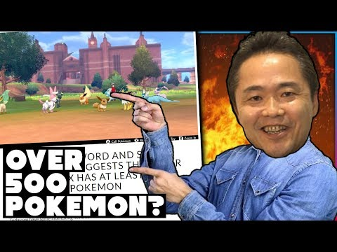 OVER 500 POKEMON IN THE GALAR POKEDEX? New Information About Pokemon Sword And Shield!