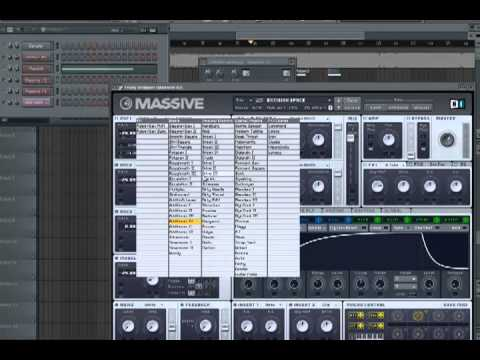 Native Instruments Massive Tutorial Excision & Space Laces - Bounce