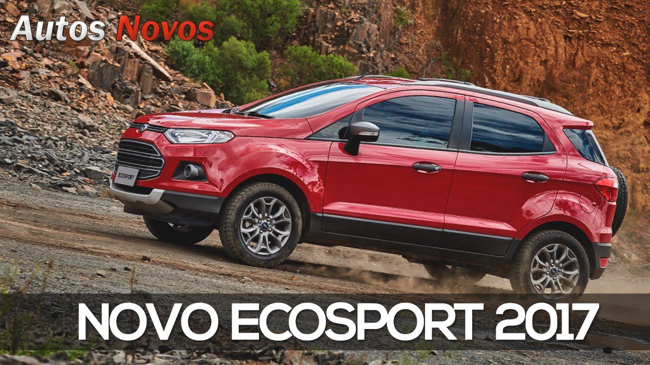 Novo Ecosport 2017 Pre 231 Os E Detalhes Youtube