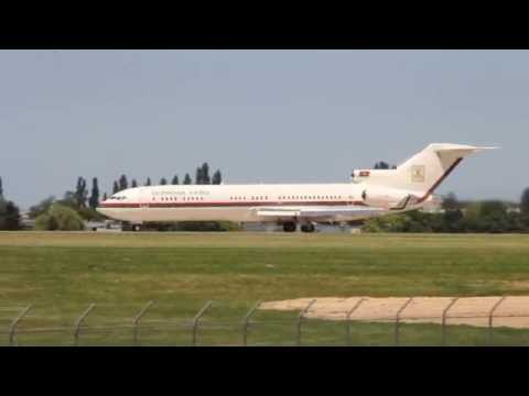 RARE! Burkina Faso Government Boeing 727-200 takeoff from Paris - Le Bourget [HD]