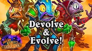 Devolve & Evolve ~ Mean Streets of Gadgetzan ~ Hearthstone Heroes of Warcraft
