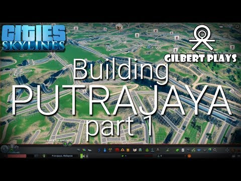 Building The Federal Territory of Putrajaya pt1