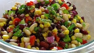 Mexican Bean salad سلطة الفاصوليا المكسيكية