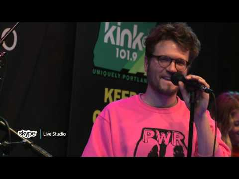 Ra Ra Riot - Interview (101.9 KINK) - YouTube