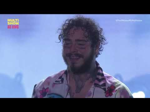 Post Malone - Congratulations   Lollapalooza Brasil 2019