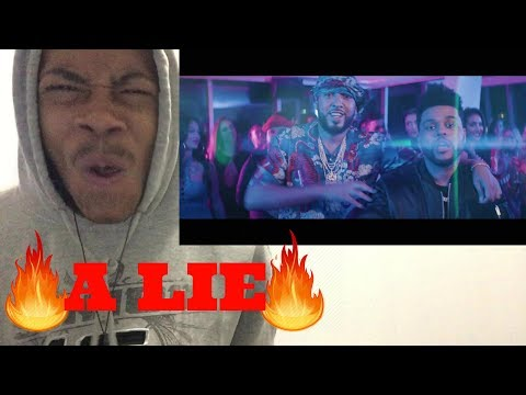 🔥French Montana - A Lie ft. The Weeknd, Max B (Official Music Video) REACTION
