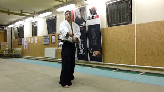 hassogaeshi uchi- jo [TUTORIAL] basic Aikido weapon technique