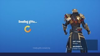 Buying & Gifting NEW 'RIFT ROCK' & MORE!! (Fortnite NEW item Shop Today)