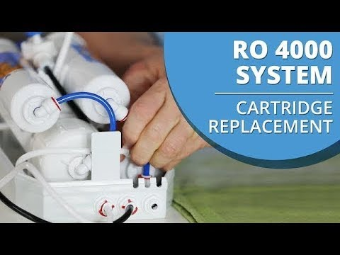 How to change the cartridge in your My Water Filter Benchtop Reverse Osmosis RO 4000 System