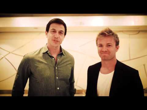 Nico Rosberg and Toto Wolff on new deal