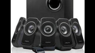Creative A550 Sound Test