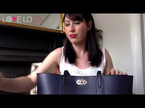 Mulberry Bayswater Tote Review - Oxford Blue with Union Jack