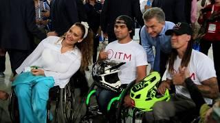 El presidente Mauricio Macri visitó la Cumbre Global de Discapacidad en Tecnopolis