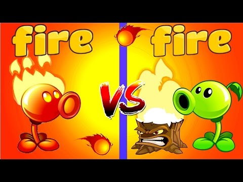 Plants vs Zombies 2 FIRE vs FIRE