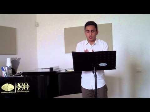 Se il mio nome saper voi bramate-Manuel Amati (18 anni)