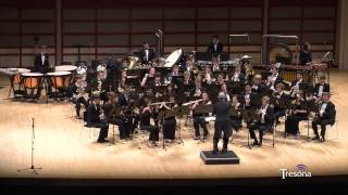 unc wind ensemble blue shades by frank ticheli