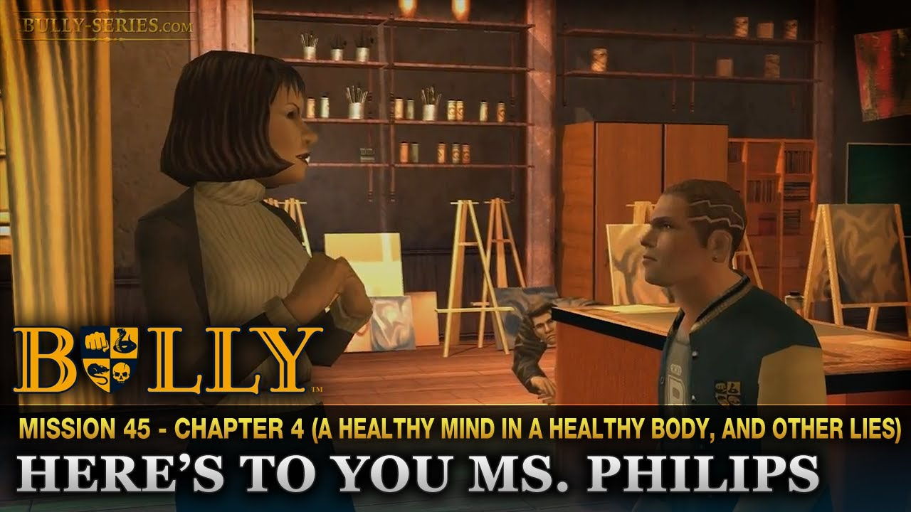 here s to you ms philips mission bully