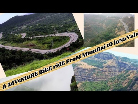 FULL DETAILS OF A BIKE RIDE FROM MUMBAI TO LONAVALA..