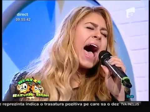 """Sia - """"Chandelier"""" (Cover by Linda si Flavius Teodosiu)! LIVE, la ..."""
