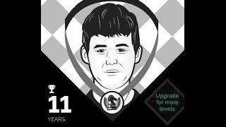 Magnus Carlsen (Age 11) vs GM Huschenbeth | Play Magnus App