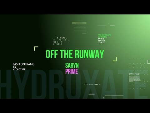 Warframe: Off The Runway - Saryn Prime