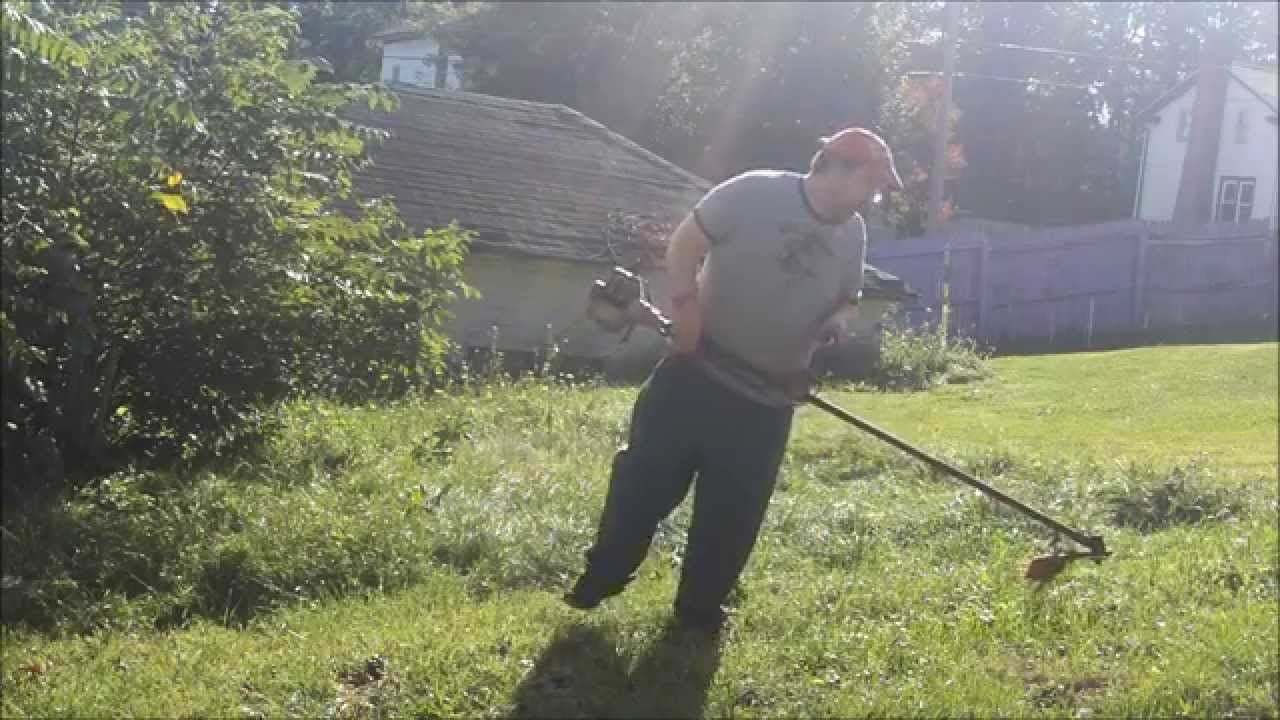 Joking around using the snapper commerial weed eater with saw joking around using the snapper commerial weed eater with saw blade on my hill super happy fun time greentooth Choice Image