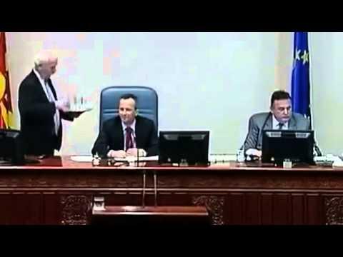 Harlem Shake ( Собрание на Република Македонија )