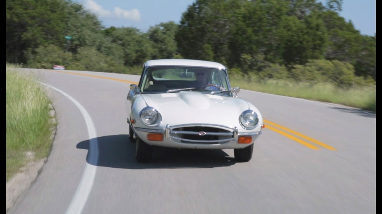 Test Drive: 1970 Jaguar XKE In Texas Hill Country