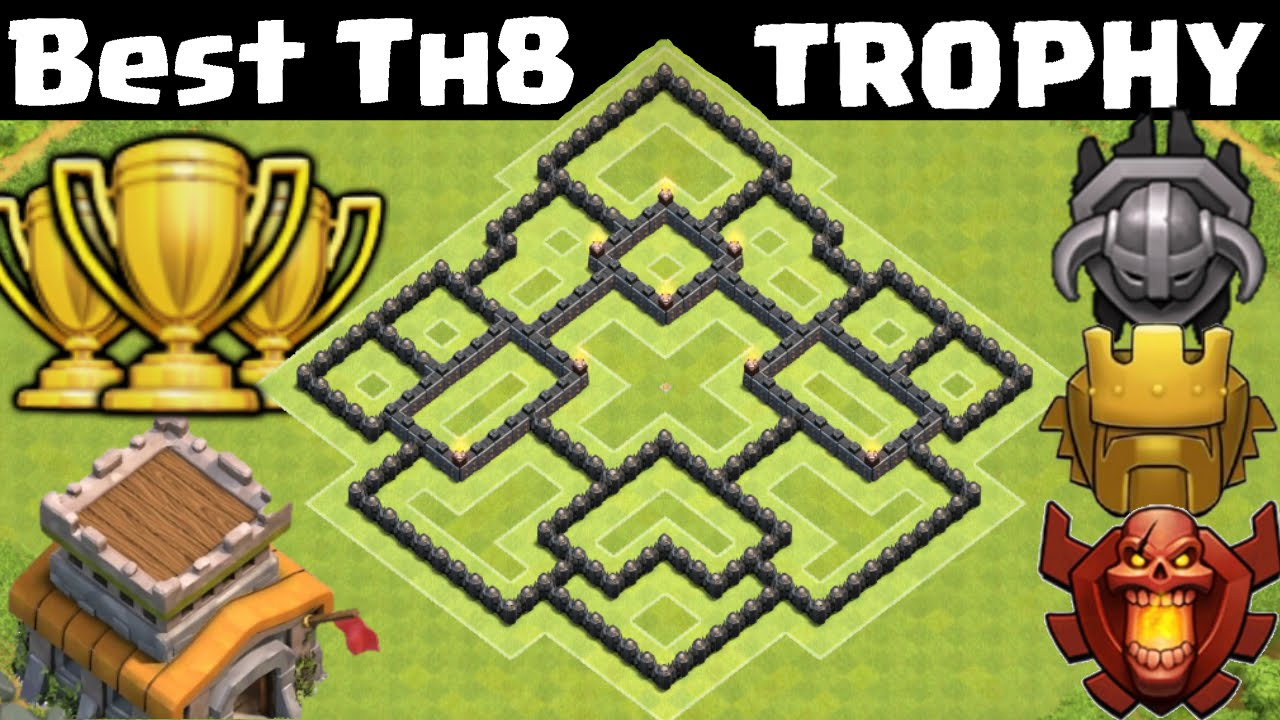 Cara Membuat Base Coc Th 8 11