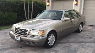 1995 Mercedes Benz S500 W140 Review and Test Drive by Bill - Auto Europa Naples MercedesExpert.com