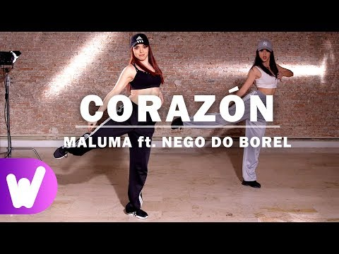 CORAZÓN – Maluma ft. Nego do Borel | COREOGRAFÍA PASO A PASO | Especial 1 MILLÓN de suscriptores
