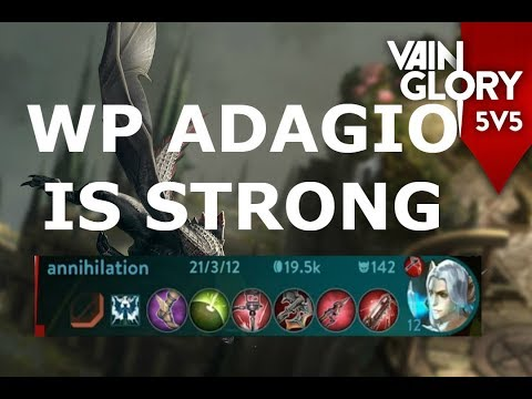 WP ADAGIO IS STRONG! - Vainglory 5v5
