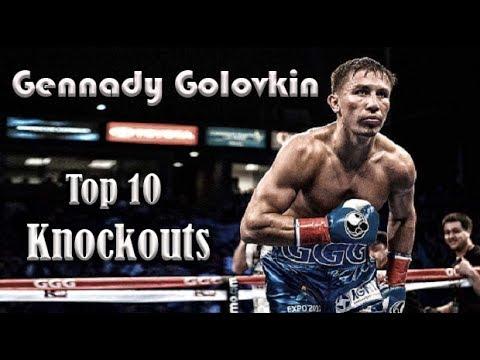 GENNADY ''GGG'' GOLOVKIN || Top 10 Knockouts