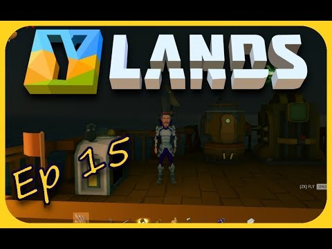 Ylands | Engine Fixed And Mining Drill | Ep 15