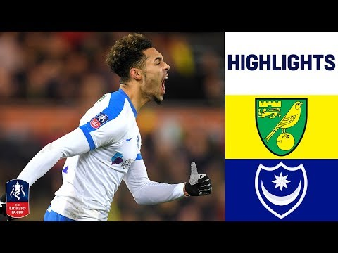 Norwich 0-1 Portsmouth | Green Scores Last Minute Winner! | Emirates FA Cup