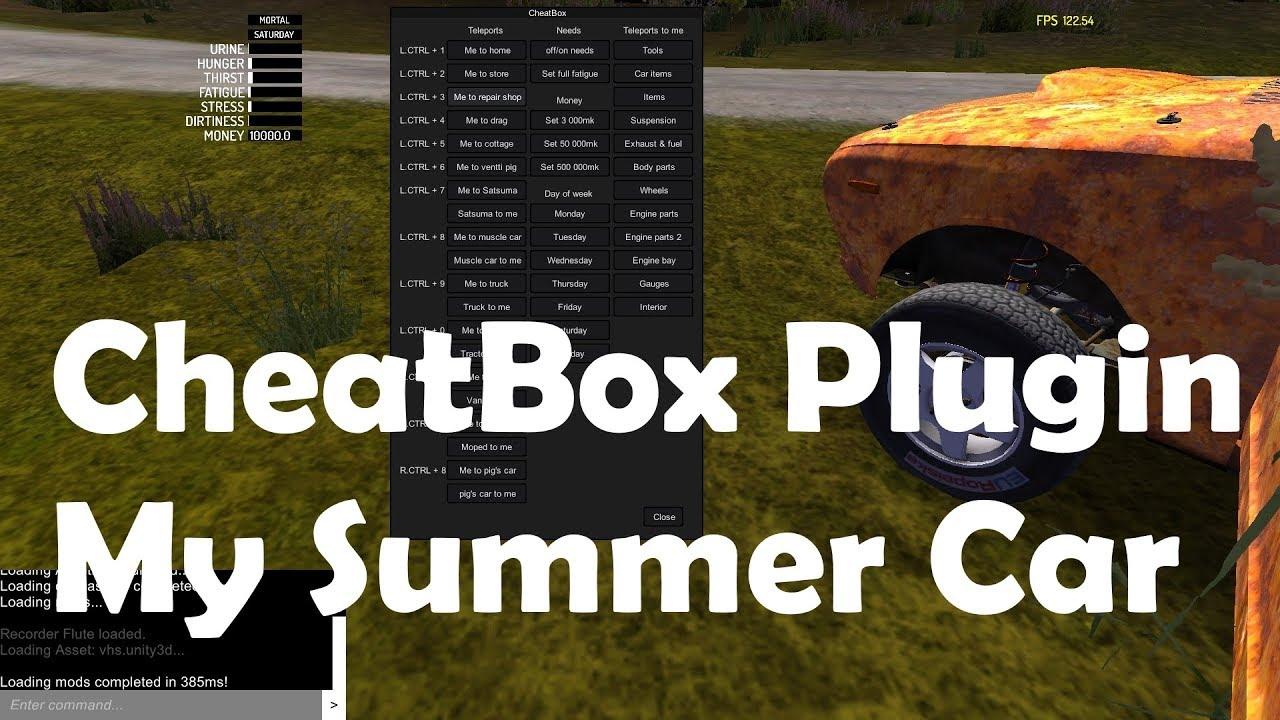 Cheatbox Plugin Mysummercarmods Com