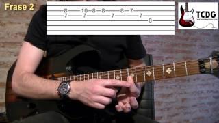 Como tocar You shook me all night long en guitarra eléctrica: Intro TCDG