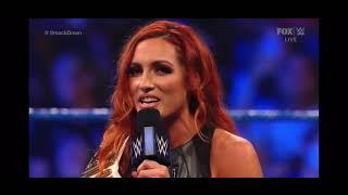 Becky Lynch And Bianca Belair Segment WWE Smackdown September 3 2021