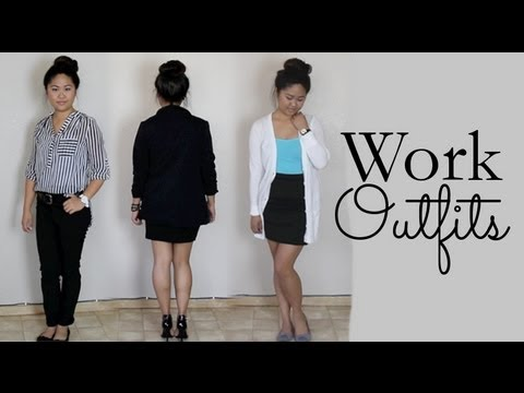 Work and Job Interview Outfit Ideas - YouTube