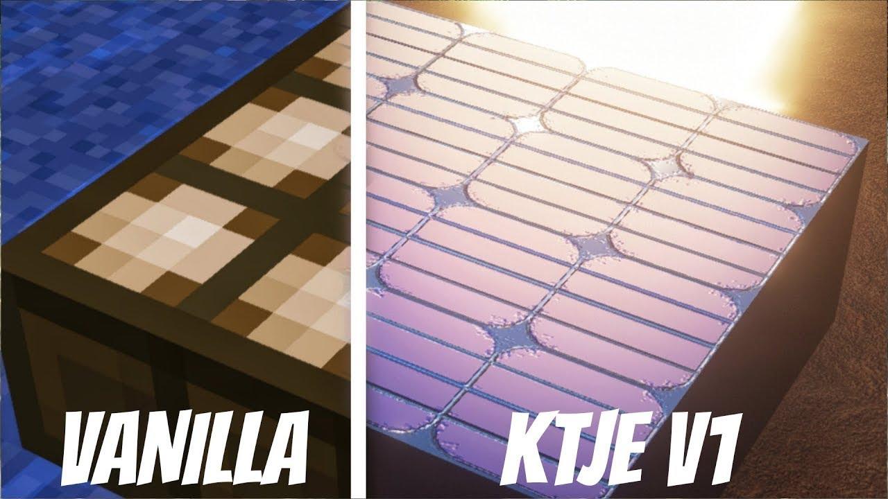 KTJE V1 Vs Vanilla Minecraft [1080p/60fps] Textures First Review ft. Sohel Khatri Indian