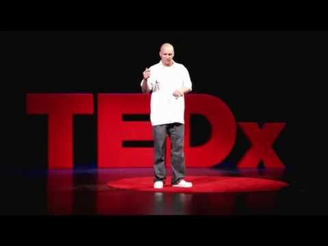 """TEDxAmericas - Gregg """"Viz"""" Visintainer - Viz Art Ink"""