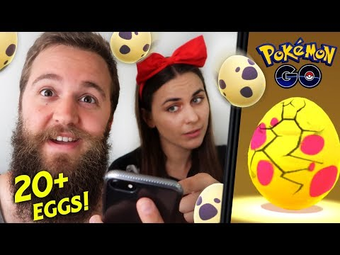 HATCHING 20+ EGGS (7KM AND 10KM) FEAT. ZOETWODOTS (POKEMON GO) thumbnail