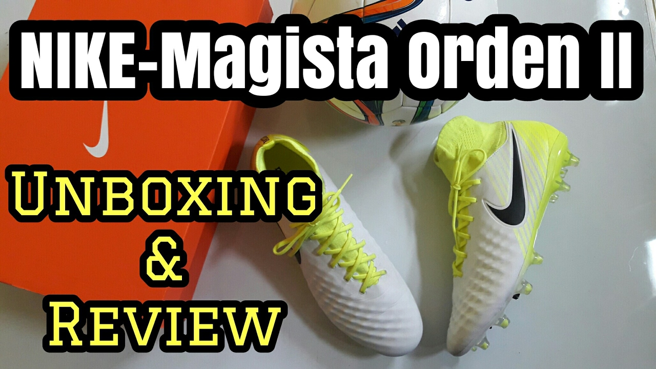 5c3c1c329c06 NIKE MAGISTA ORDEN II FG | Unboxing & Review #2 (Español) - YouTube