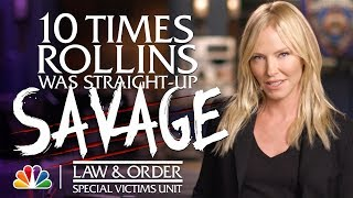 10 Times Rollins Was Straight-Up Savage - Law amp Order SVU