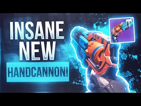 "Destiny INSANE NEW LEGENDARY HANDCANNON ""The Palindrome"" - Destiny New Crucible Handcannon"