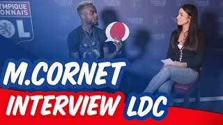 L'interview Ligue des champions avec Maxwel Cornet | Olympique Lyonnais