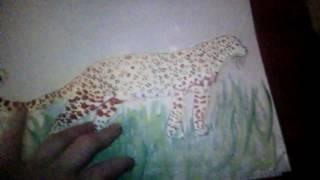 Как нарисовать леопарда(Всем привет!!!В этом видео вы узнаете как нарисовать леопарда. Надеюсь вам понравится я очень старался нарис..., 2016-11-15T13:09:39.000Z)